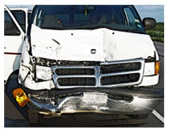 Railroad Van Collision