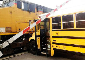 Schoolbus Train Collision